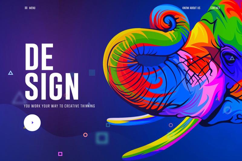 Cool Graphic Design Trends 2018: Web Design Trends 2018rh:element8.ae,Design