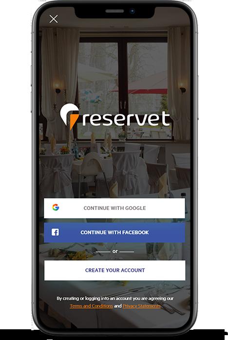 Reservet Wedding Event Planning App - Mobile Application Development By Element8