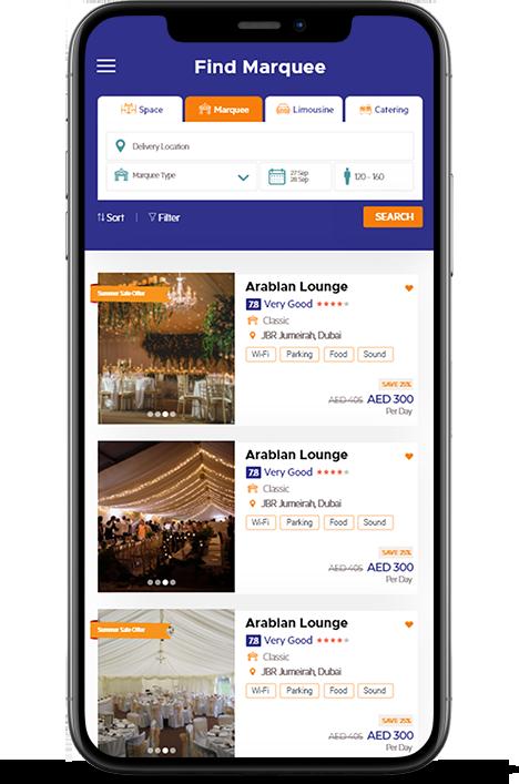Reservet Wedding Event Planning App - Mobile App Development By Element8