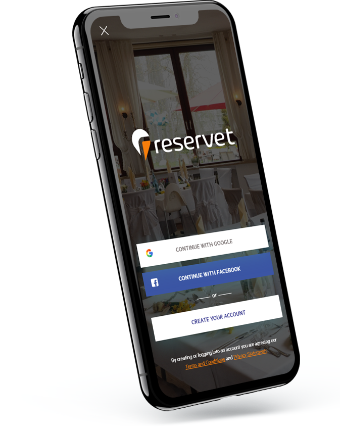 Reservet Wedding Event Planning App - Web & Mobile Application Development By Element8