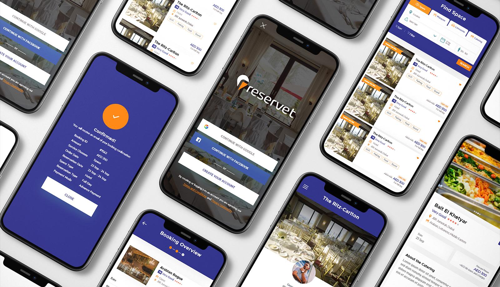 Reservet - Web & Mobile App Development By Element8