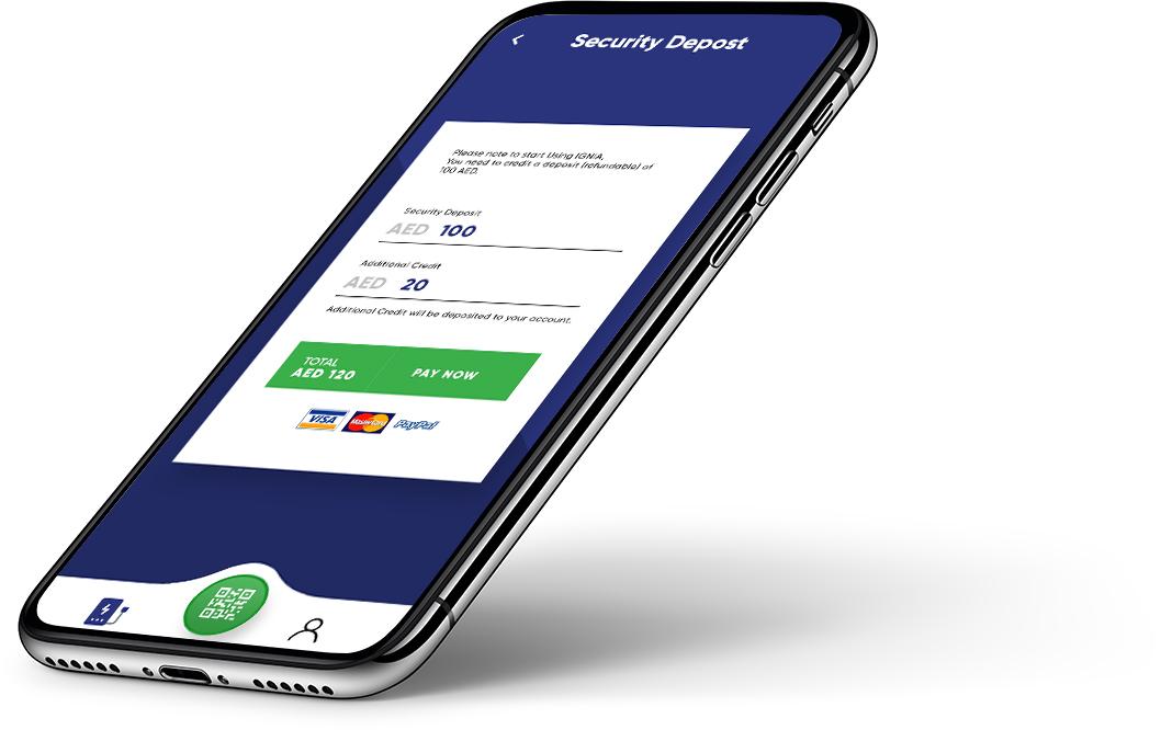 Ignia Shared Power Bank - Mobile App Development - Element8