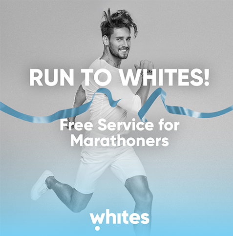 RUN TO WHITE - Free Service for Marathoners - Digital Marketing - Element8