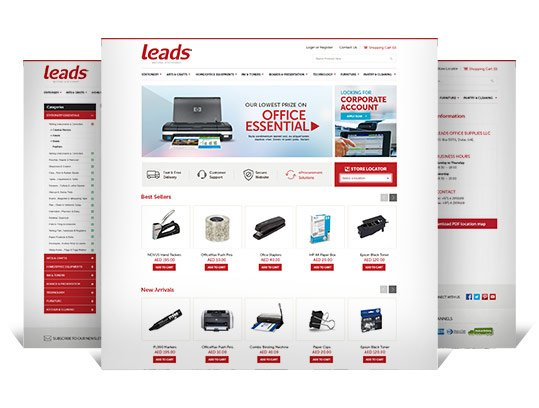 Leads Stationery