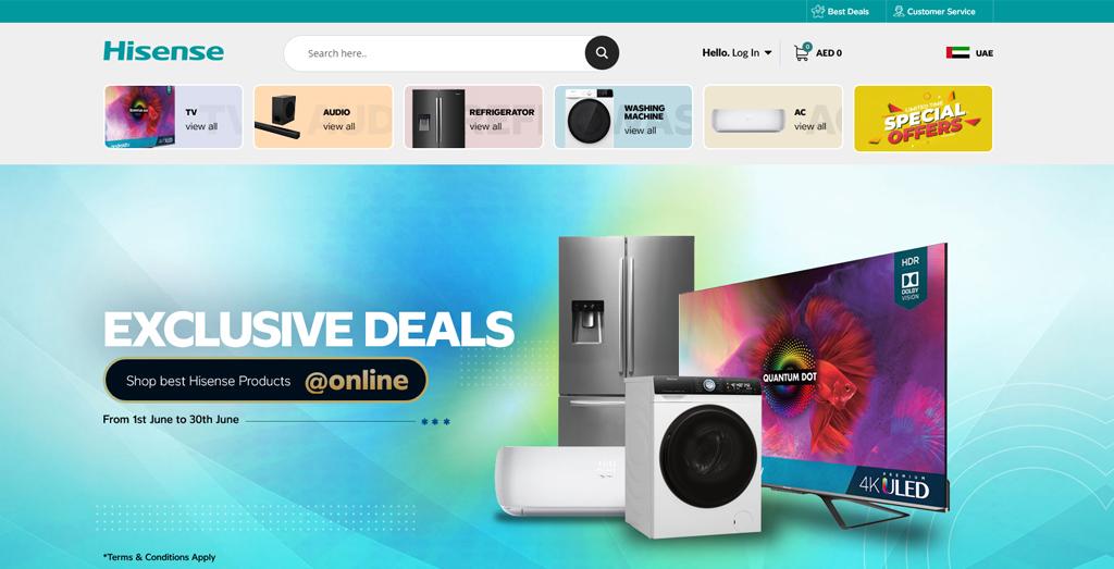 Hisense E-commerce Store
