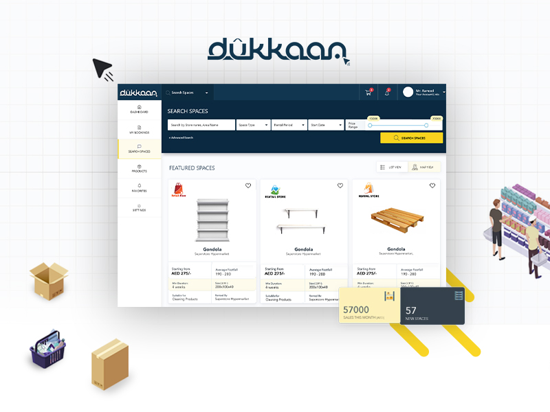 Dukkaan | Website Design & Web Development | Element8 Dubai