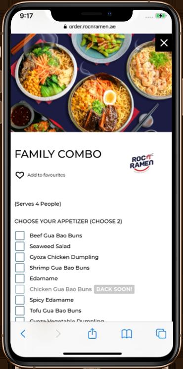 rnr - Mobile App Development - Element8 Dubai